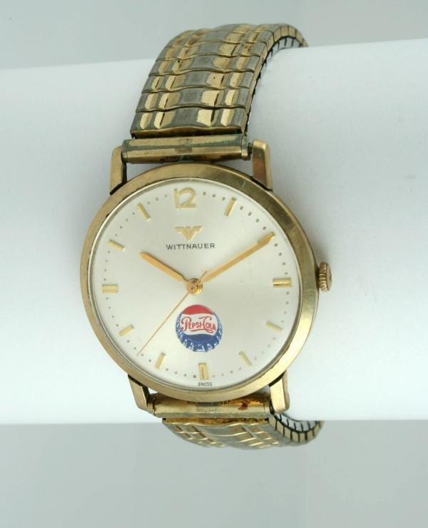 806: Pepsi-Cola Wittnauer Wristwatch