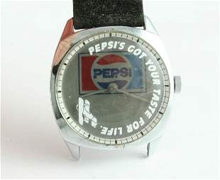Pepsi-Cola Pepsi's Got Your Taste for Life Watch