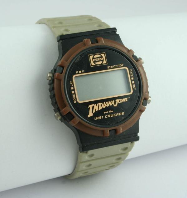 810: Pepsi-Cola Indiana Jones Last Crusade Wristwatch