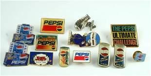 Pepsi-Cola Lapel Pin Lot