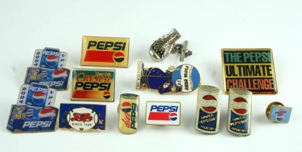 814: Pepsi-Cola Lapel Pin Lot