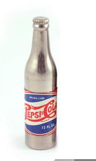 Pepsi-Cola Double Dot Bottle Cigarette Lighter