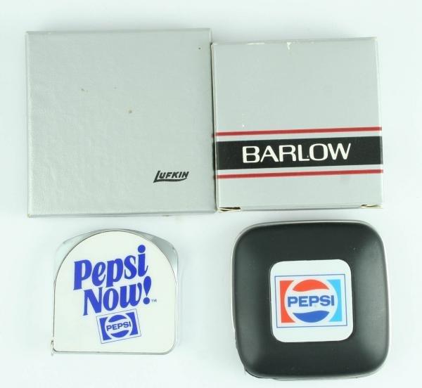 819: 2 Pepsi-Cola Tape Measures