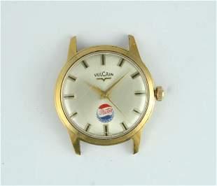 1950s Pepsi-Cola Vulcain Wristwatch