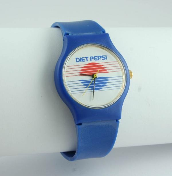 507: Pepsi-Cola Criterion Quartz Diet Pepsi Wristwatch