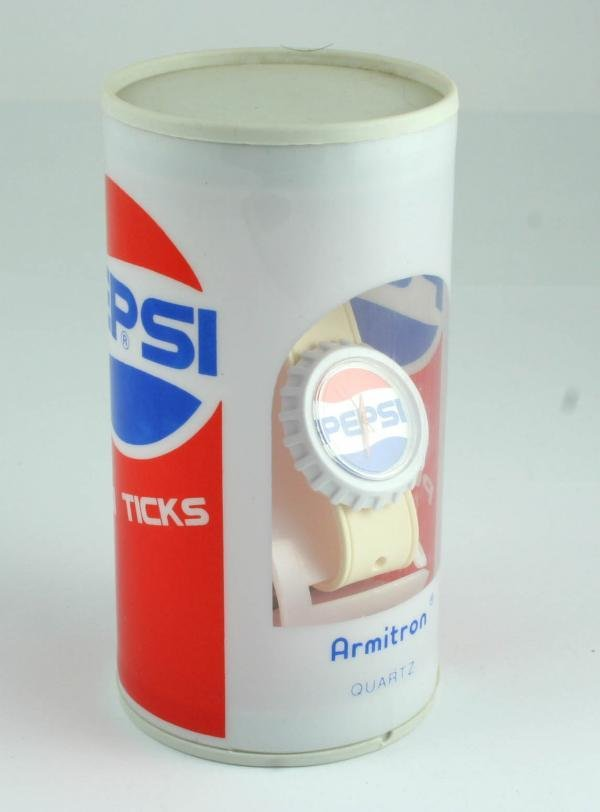 508: 1990s Pepsi-Cola Armitron Quartz Wristwatch