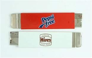 Pepsi-Cola Pepsi Free Hires Root Beer Box Cutters