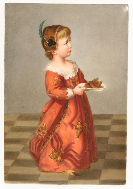 3: Late 19th Century KPM Porcelain Plaque