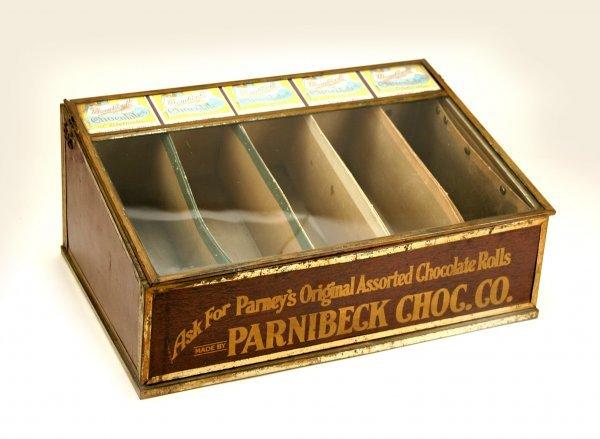 14: Parnibeck Chocolate Gen. Store Display Case C1900