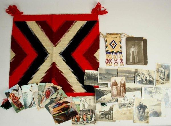 209: Sitting Bull RPPC & Photos / Artifacts Archive