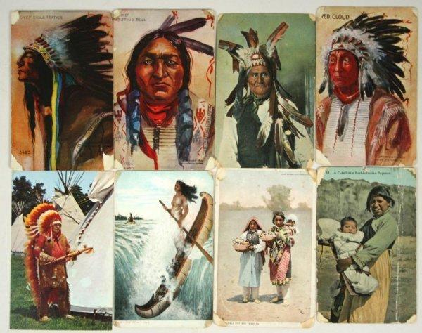 209: Sitting Bull RPPC & Photos / Artifacts Archive - 5
