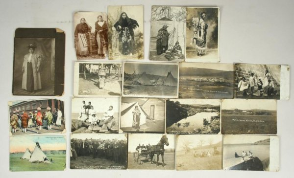 209: Sitting Bull RPPC & Photos / Artifacts Archive - 6