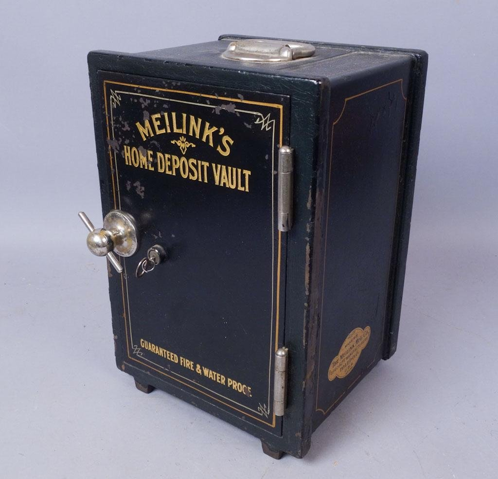 Meilink's Home Deposit Vault Traveler's Safe