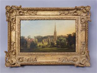 John Constable painting Hon. A. Shirley Expertization