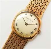 Vintage Swiss Chopard 18k Gold 17J Ladies Wristwatch