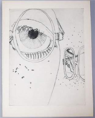 Adriena Simotova Signed Print #4/30 1969