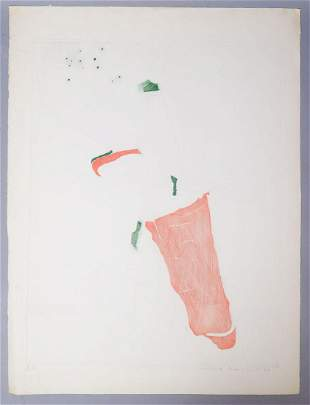 "Adriena Simotova Signed Still Life Print ""Punchoca"""