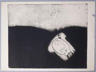 """Eva Bednarova Signed Print 1968 """"Velikonoee"""""""