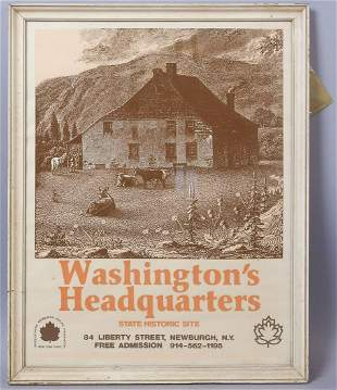 Historic Preservation Poster Washington Headquarters
