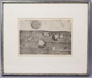Jiri John Framed Abstract Print  #1/10 1964
