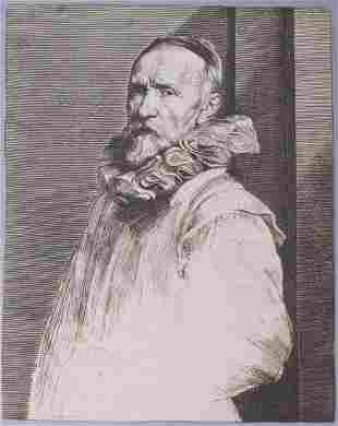 Anthony Van Dyck Portrait Of Jan De Wael 1630