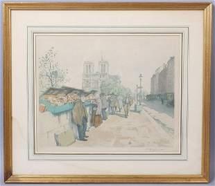 Tavik Frantisek Simon Signed Print Notre Dame #168