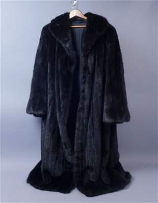 Natural Ranch Mink Full Length Coat Rarely Worn