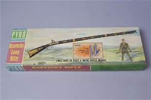 Vintage Pyro Kentucky Long Rifle Full Size Model Kit