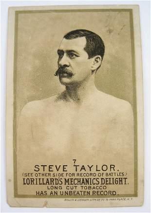 105: Steve Taylor #7 Mechanics Delight Boxing Card