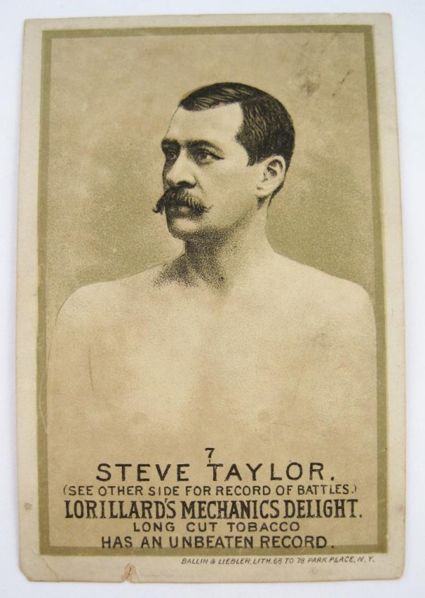 105: Steve Taylor #7 Mechanics Delight Boxing Card