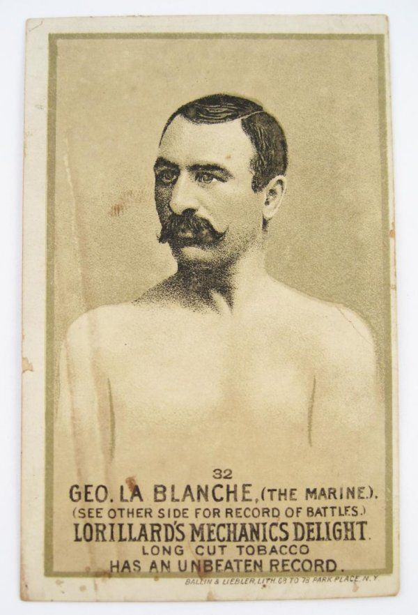 George La Blanche #32 Mechanics Delight Boxing Car