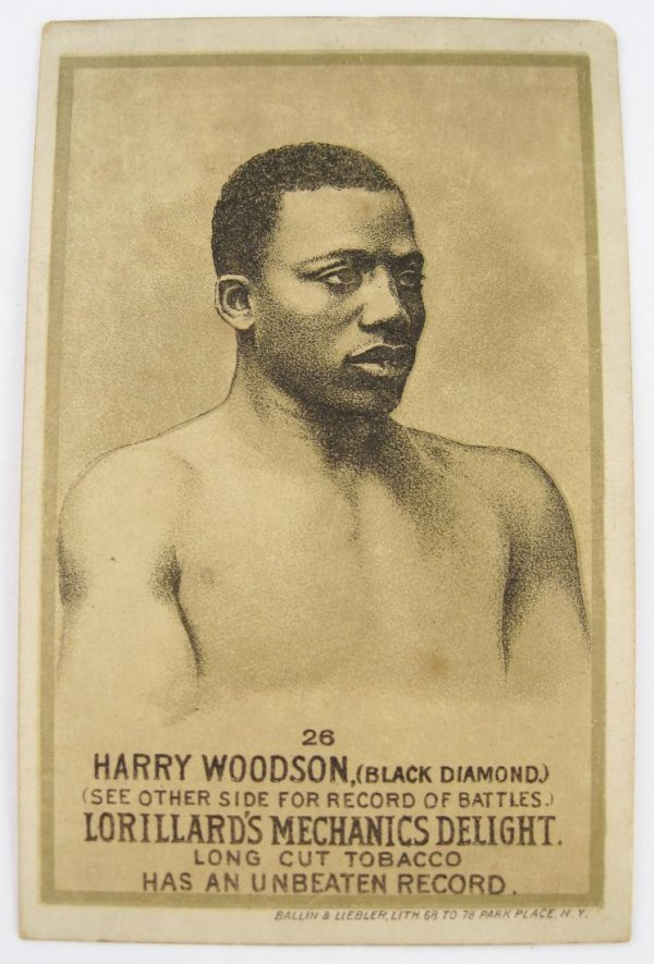 109: Harry Woodson #26 Mechanics Delight Boxing Card