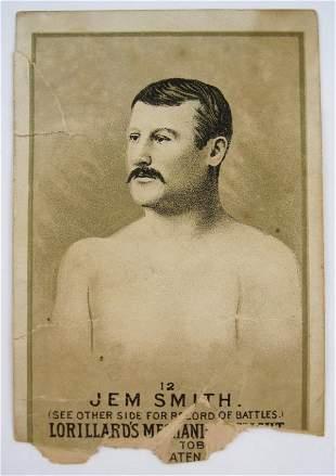 111: Jem Smith #12 Mechanics Delight Boxing Card