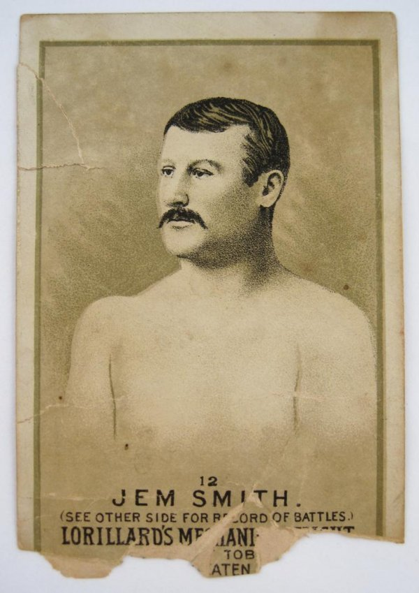111: Jem Smith #12 Mechanics Delight Boxing Card