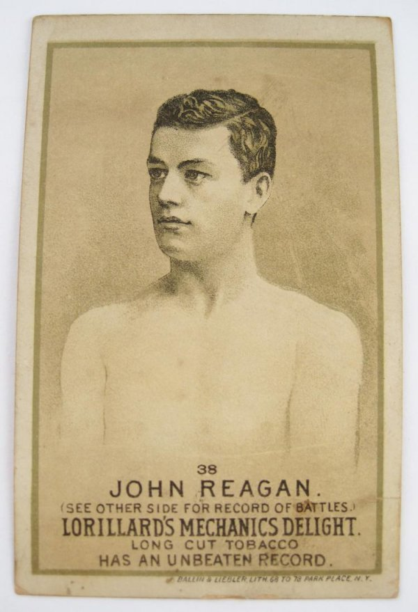 113: John Regan #38 Mechanics Delight Boxing Card