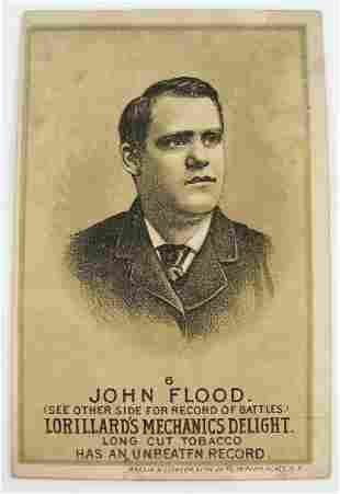 115: John Flood #6 Mechanics Delight Boxing Card