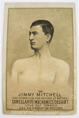116: Jimmy Mitchell #39 Mechanics Delight Boxing Card