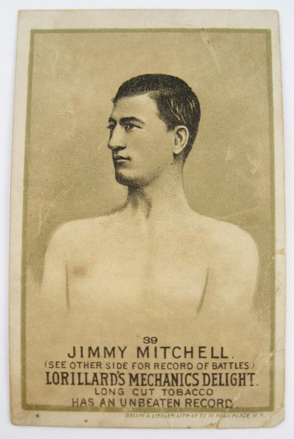 116: Jimmy Mitchell #39 Mechanics Delight Boxing Card