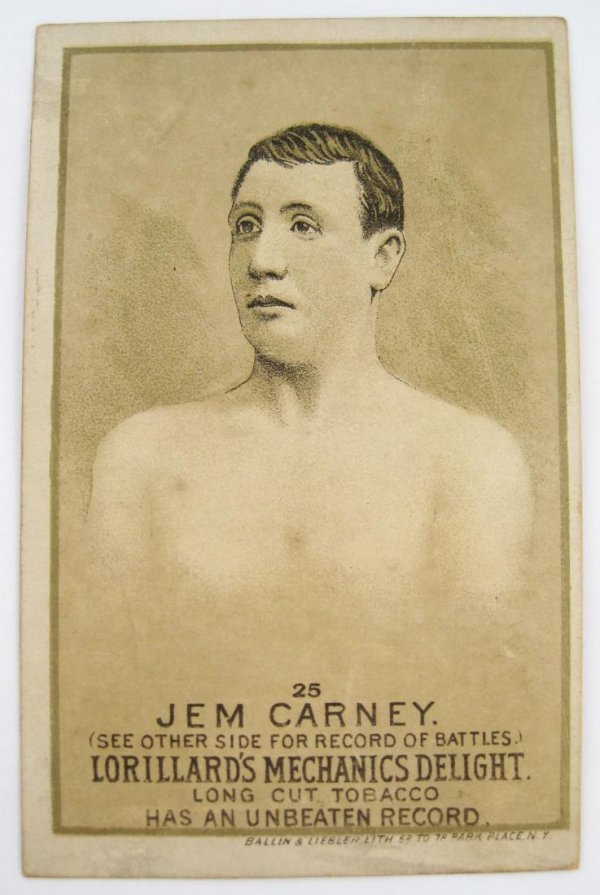 122: Jem Carney #25 Mechanics Delight Boxing Card