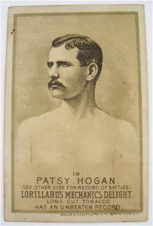 Patsy Hogan #19 Mechanics Delight Boxing Card