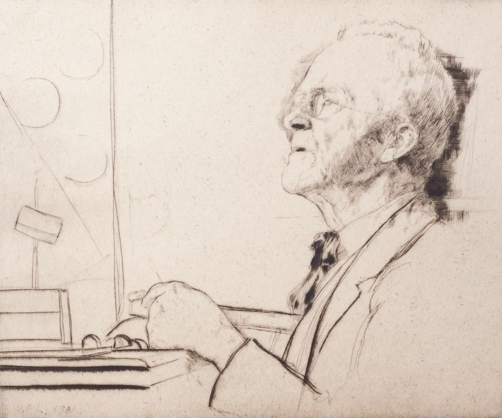 Wm Auerbach-Levy Timothy Cole Print Club of Philly