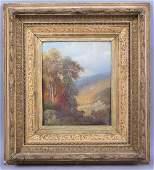 19c Hudson River School Painting Signed Phelan Framed