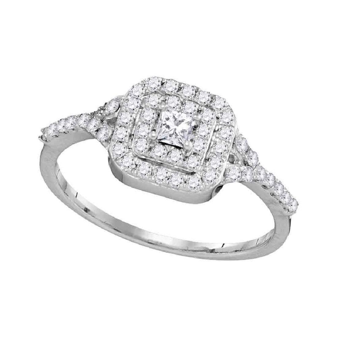 Princess Diamond Bridal Wedding Engagement Ring 14k