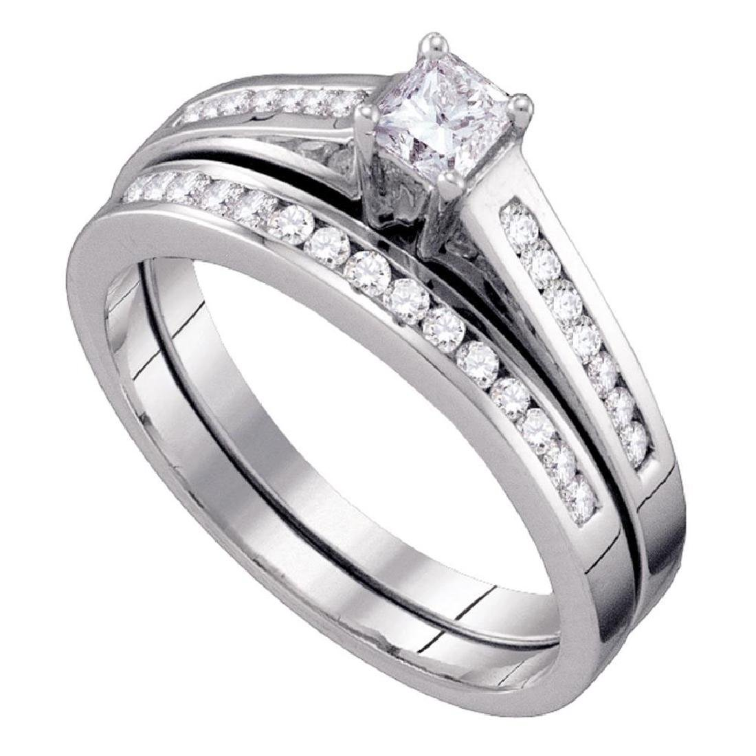 Princess Diamond Bridal Wedding Engagement Ring 10kt