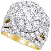 Diamond Certified Halo Bridal Wedding Engagement Ring