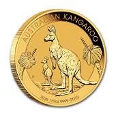 2020 Australia 12 oz Gold Kangaroo BU