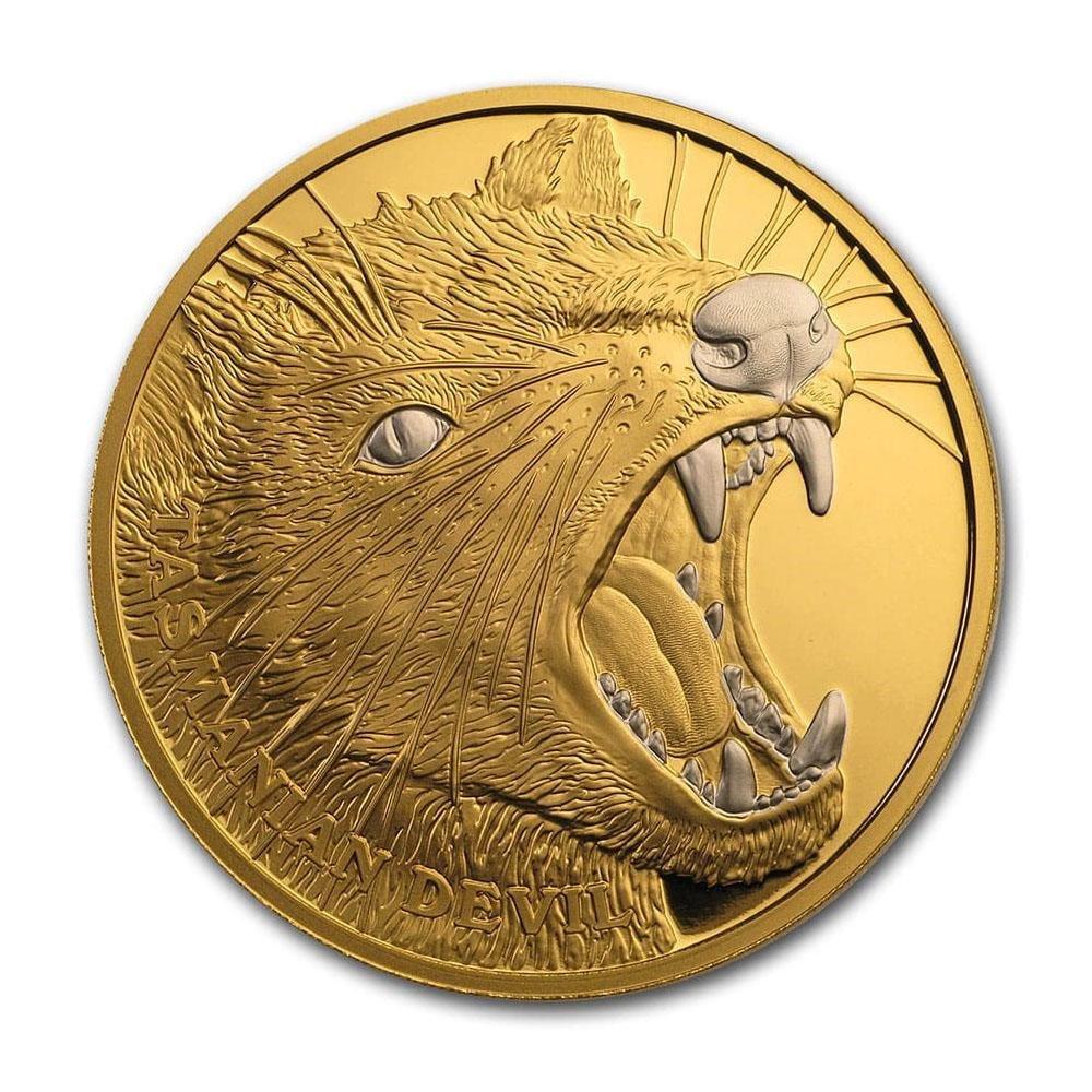 2020 Niue 1 oz Proof Gold Wildlife Up Close (Tasmanian