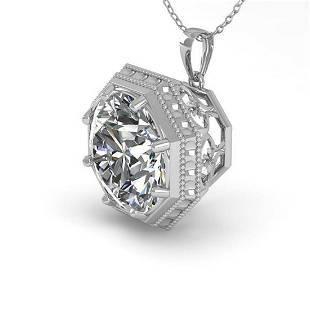 150 ctw VSSI Diamond Necklace 18K White Gold
