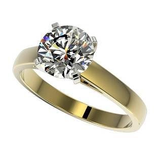 2 ctw HSII Diamond Ring 10K Yellow Gold
