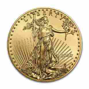 2020 1 oz Gold American Eagle BU